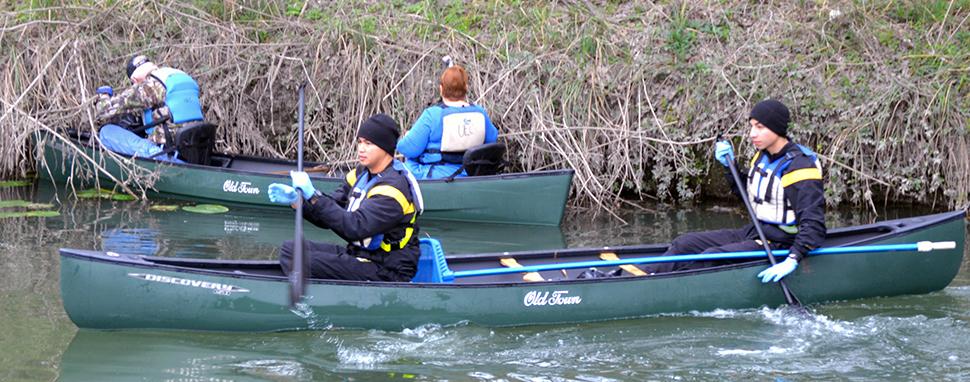 Basura Bash draws hundreds of volunteers to clean out Salado Creek