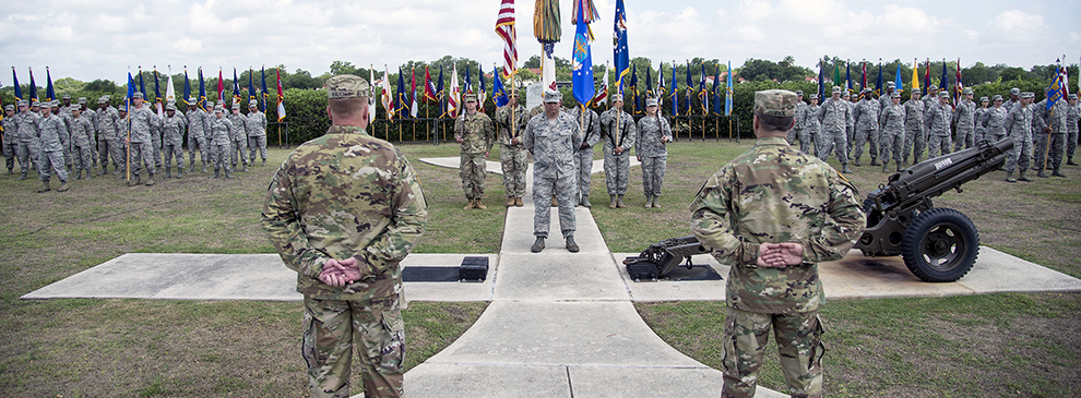 502nd Force Support Group welcomes new commander