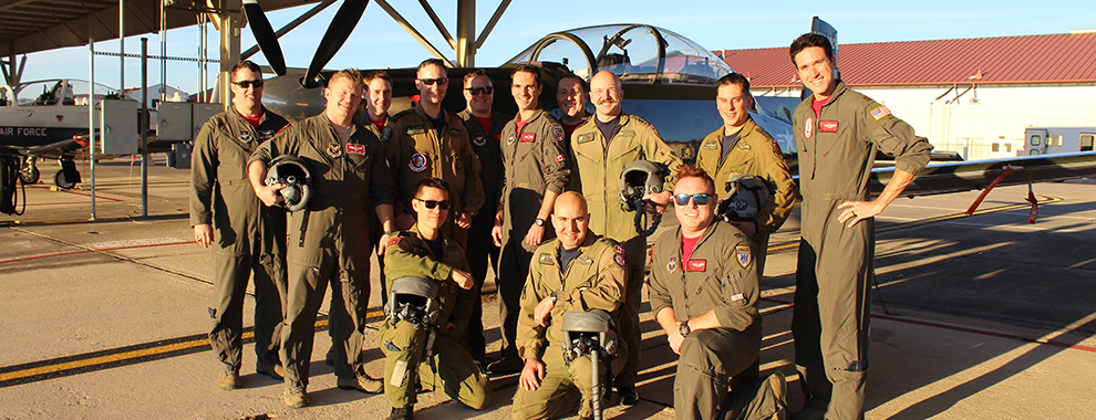 USAF, RCAF exchange pilots and expertise