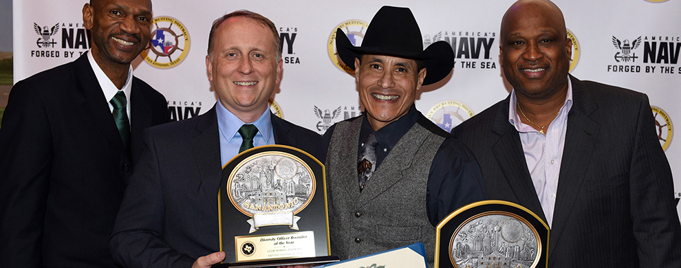 Navy recruiter honored at San Antonio Stock Show & Rodeo Hall of Fame