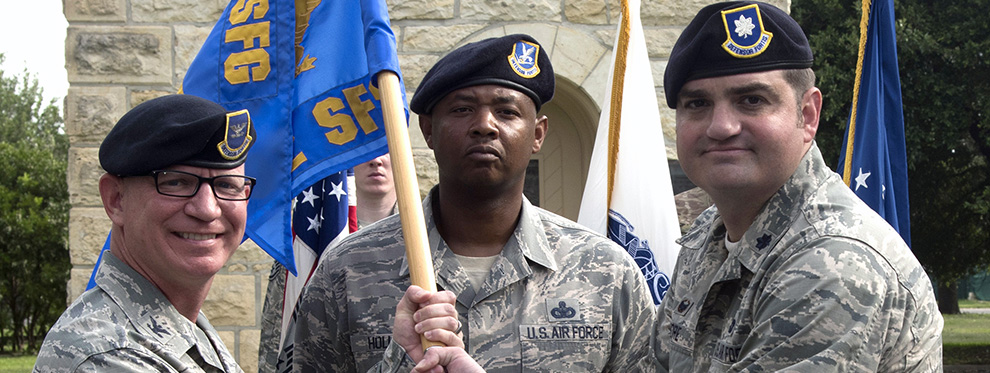 502nd Security Force Squadron welcomes new commander