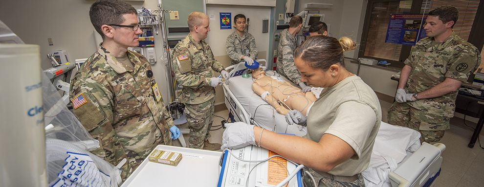 BAMC staff helps train Department of Defense doctors
