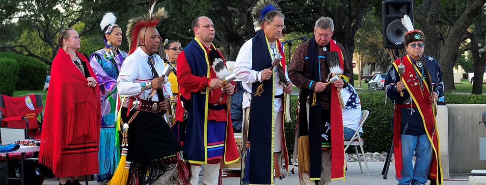 Solemn dance highlights American Indian Heritage Day