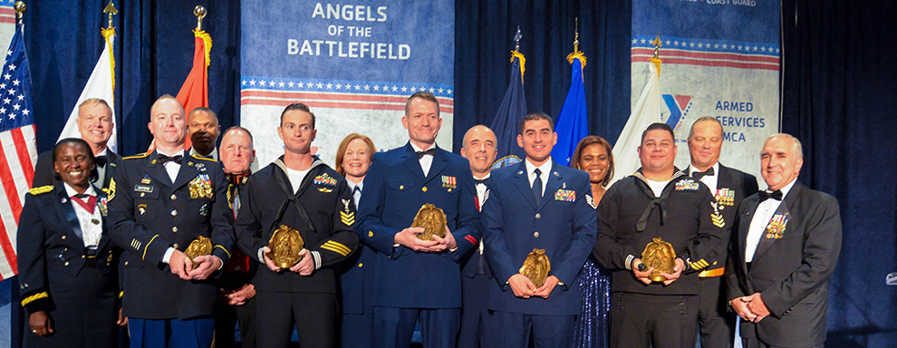 Local Sailor honored at Angels of the Battlefield Awards Gala