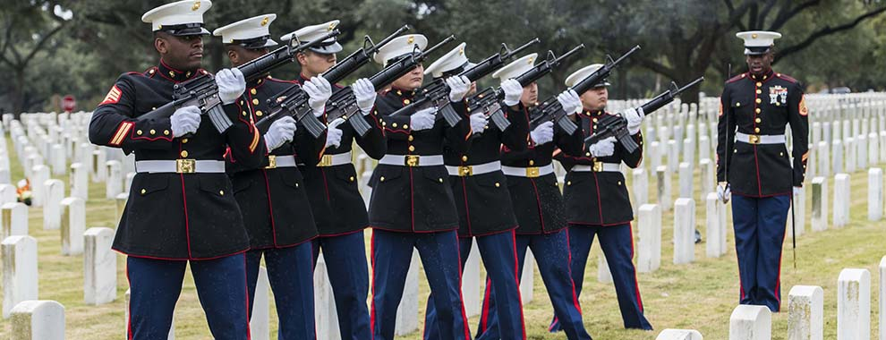 Remains of World War II service members laid to rest at Fort Sam Houston National Cemetery