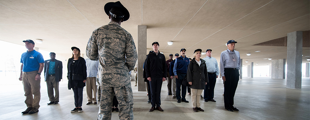 Air Force civic leaders experience AETC mission to recruit, train and educate exceptional Airmen