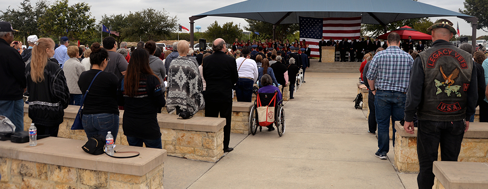 Veterans Day ceremony honors the price of freedom