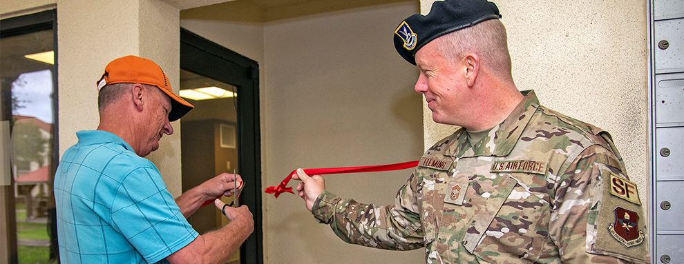 JBSA-Randolph dorm residents ask, leadership answers