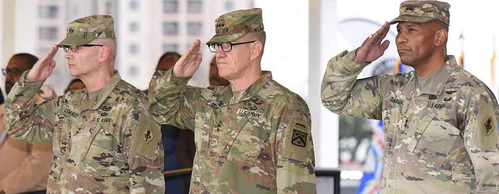 U.S. Army Medical Center of Excellence welcomes new commander