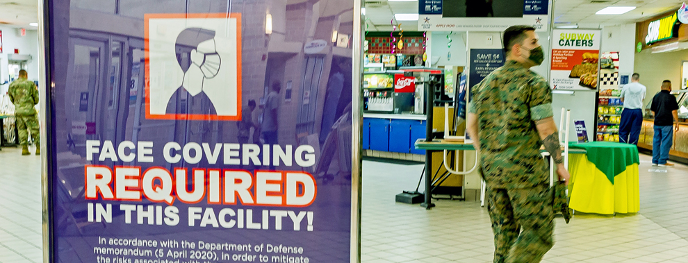 JBSA Commissaries, Exchanges require patrons to wear face covers