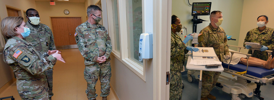 Army Chief of Staff, Sgt. Maj. of Army visit JBSA-Fort Sam Houston