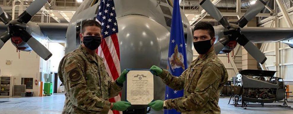 37th TRW Airman-In-Training saves fellow trainee's life