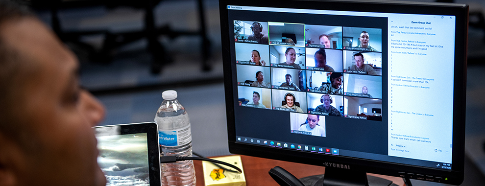 Flexibility essential during pandemic: NCOA builds first-ever virtual course