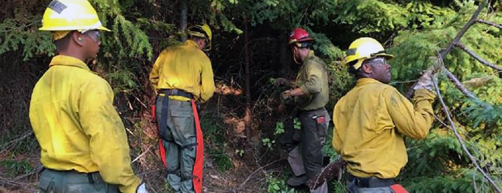 'Strength of the Nation' assists wildland firefighting operations