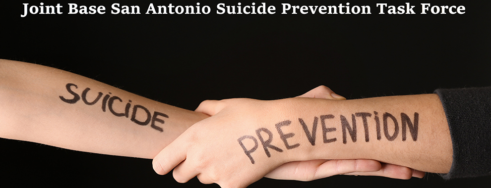 JBSA Suicide Prevention Taskforce coordinates resources