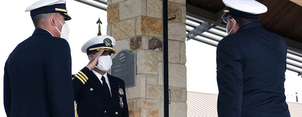 Navy Talent Acquisition Group San Antonio welcomes new commander