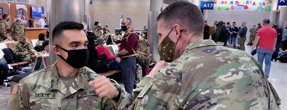 JBSA-Fort Sam Houston Soldiers, leaders get a well-deserved break for the holidays