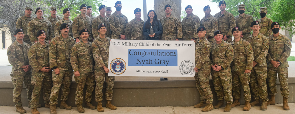 TACPs recognize Military Child of the Year
