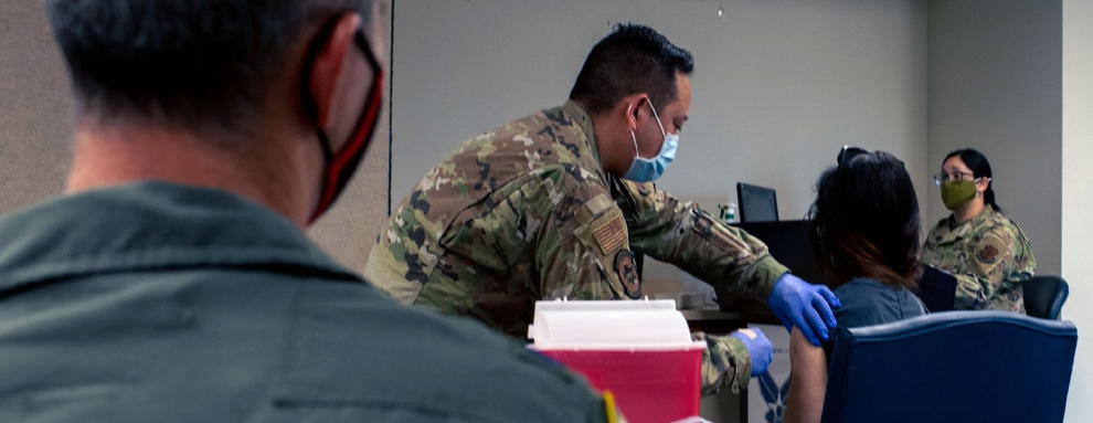 149th Medical Group Gunfighters holding COVID-19 vaccine clinics
