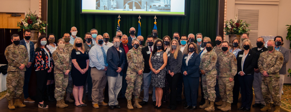 502nd ABW commanders, senior leaders welcome new honorary commanders