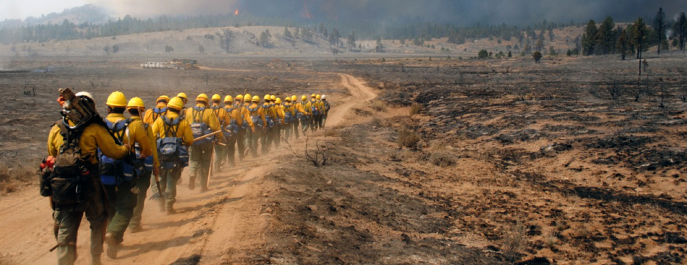 ARNORTH concludes military wildland fire ground response operation in California