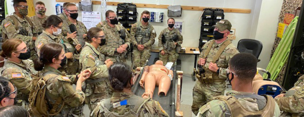 First Army combat medics to receive advanced training graduate