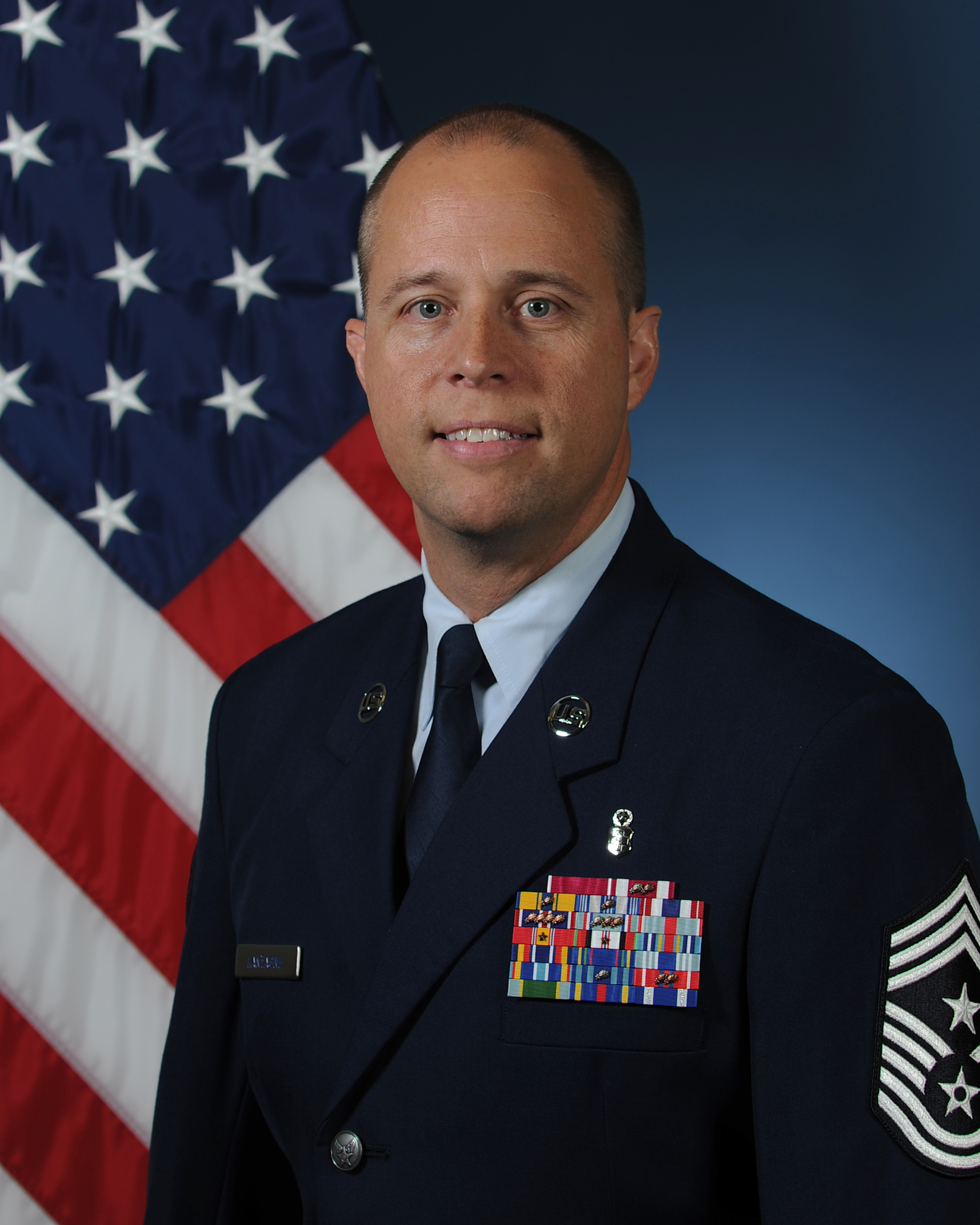 Command Chief Master Sgt. Christopher Lantagne