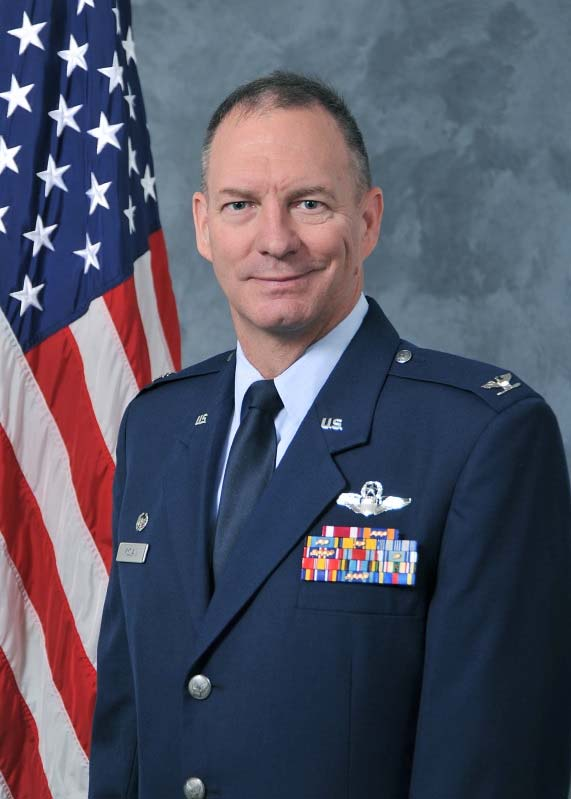 Col Terry McClain