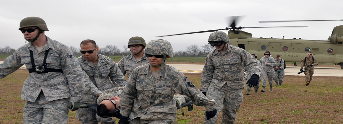 Total force exercise sharpens combat-ready skills