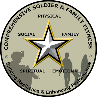 Comprehensive Soldier & Family Fitness logo