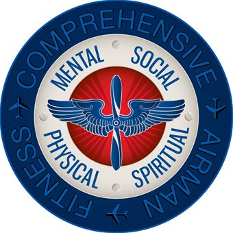 Comprehensive Airman Fitness logo